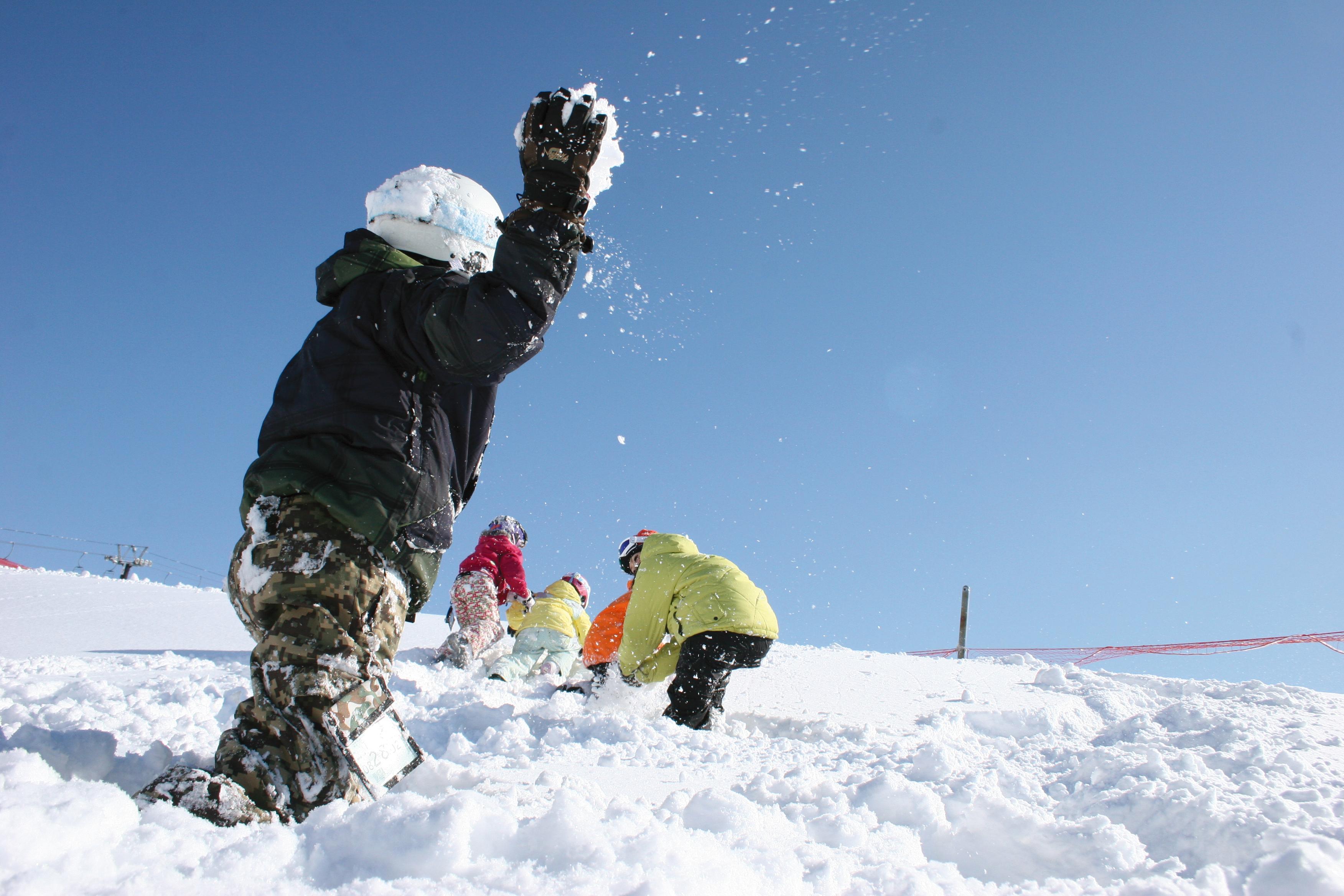 はじめての雪山は 「ビキッズパーク」から!