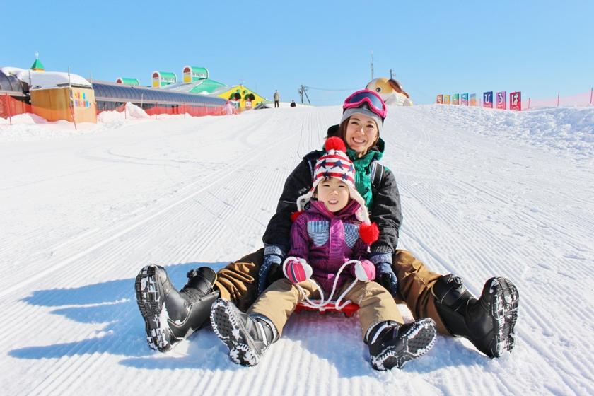 キッズパークは 雪遊びデビューに最適!