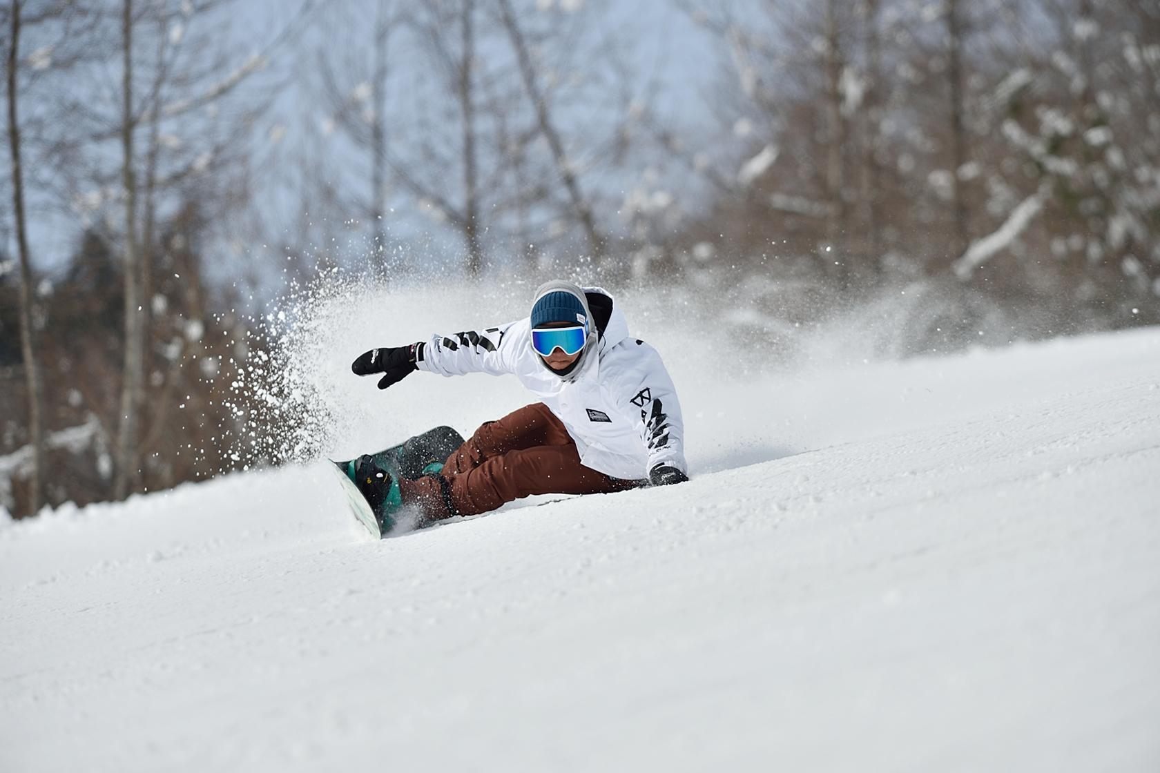 はじめてのスノーボードレッスン