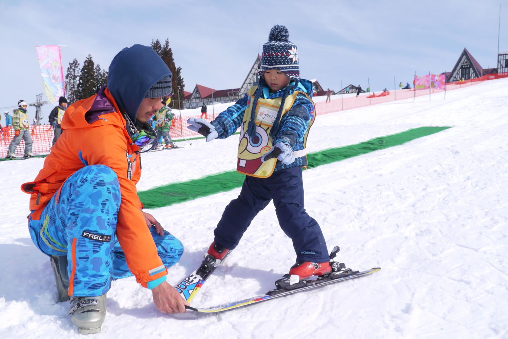 新潟県スキーレッスン付きモニターツアー