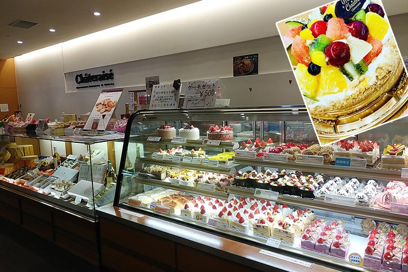 おいしいスイーツに囲まれた お菓子屋さん直営ゲレンデ!