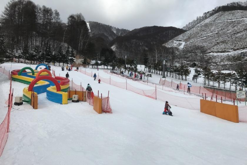 雪遊びもチュービングも 楽しめる「ロックン広場」