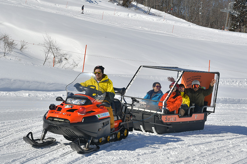 毎日運行予定! 家族みんなで楽しめる 「雪景色遊覧ツアー」