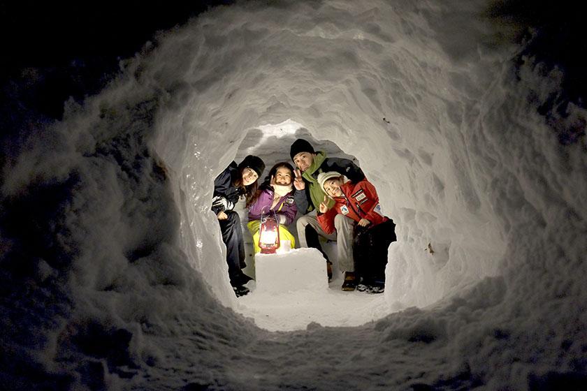 おたり自然学校Presents コルチナ ワンダーヴィレッジ「雪遊びパーク」