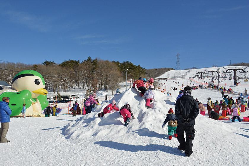 安心・安全な雪遊び広場 「ひるがもキッズランド」