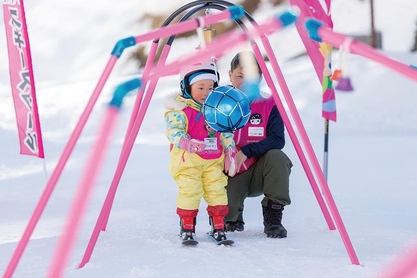 スキーデビューを全力応援! 「ロックンキッズスクール」