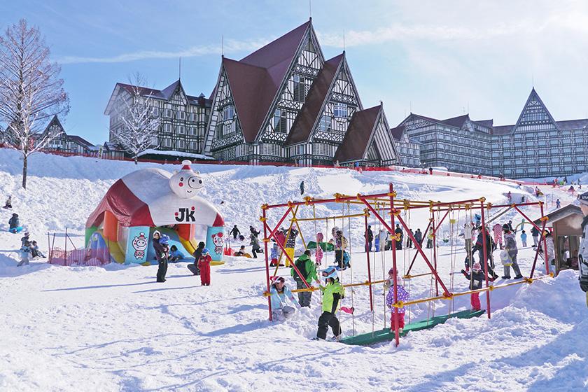 ホテルグリーンプラザ上越に泊まって 2つのスキー場を満喫!