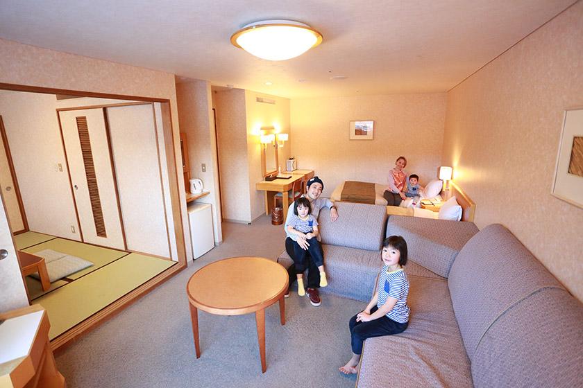 「ウェルカムベビーのお宿」認定 プレジデントリゾートホテル軽井沢」
