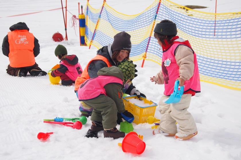 体験できない雪国の遊びがいっぱい!
