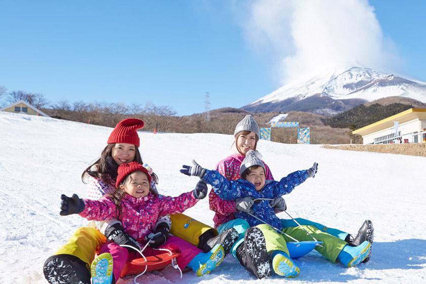 アクセス抜群のスキー場