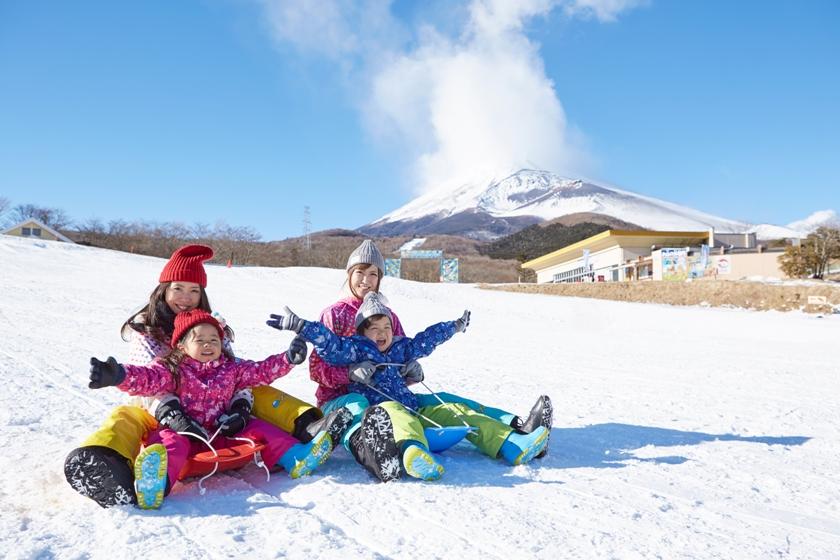 雪遊びならこちらもおすすめ!ゲレンデデビューを応援!遊園地ぐりんぱ