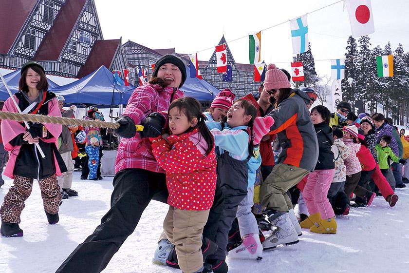 3月17日(日)岩原雪上運動会