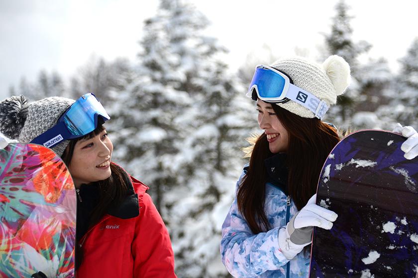 志賀高原スキーエリア(18スキー場)