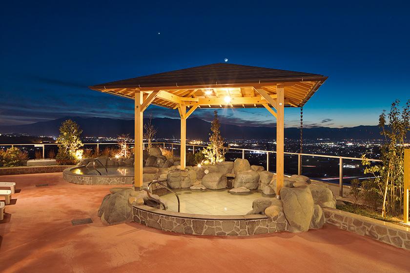 南パラダの温泉施設 平尾温泉 「みはらしの湯」