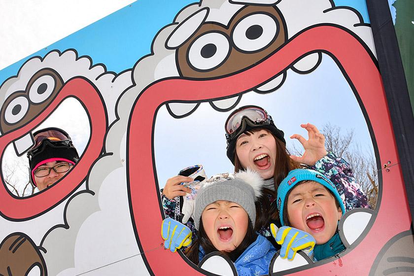 石打丸山 スキー子どもの日でリフト券無料!