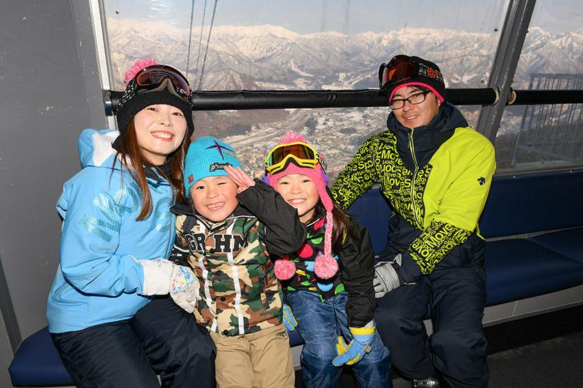 湯沢高原 雪だるまづくり体験