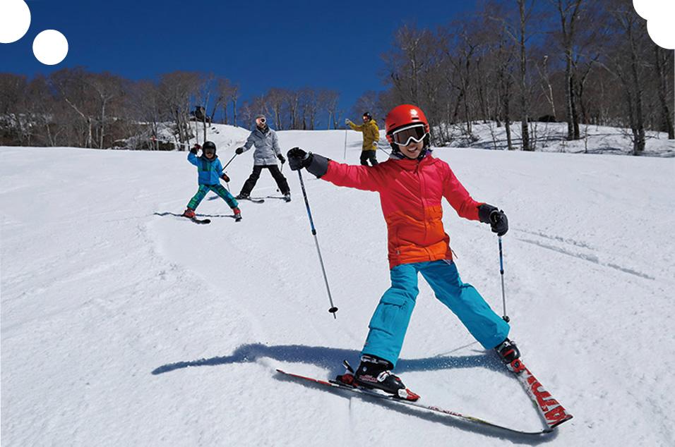 スキーがこどもの成長に良い4つの理由